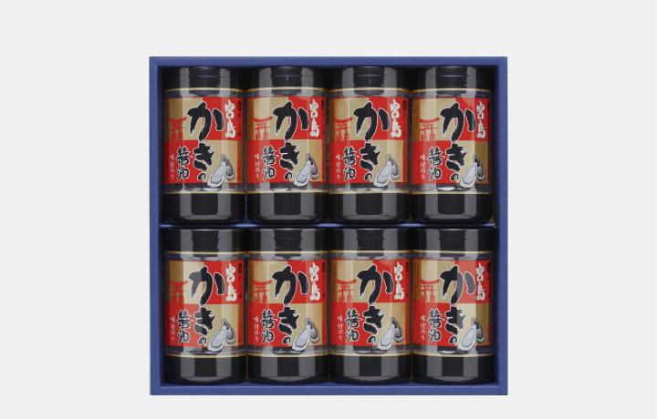 宮島かき醤油のり8本R